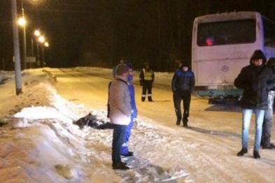 Водитель автобуса погиб на трассе под Арзамасом