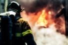 Баня и гараж обгорели минувшей ночью во время пожара в деревне Березовка Арзамасского района