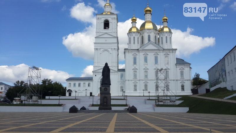 13августа Святейший Патриарх Московский ивсея Руси Кирилл посетит город Арзамас