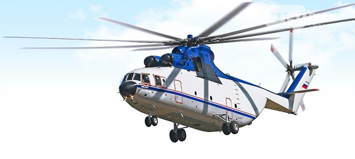 Гражданская авиация Ми-26Т