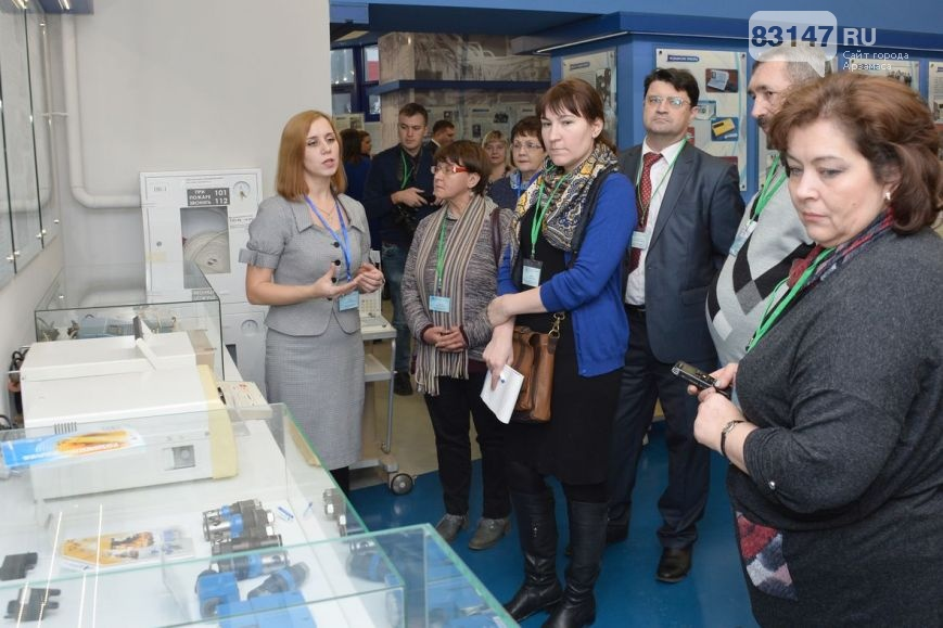 Итоговая пресс-конференция О.Лавричева_В музее АПЗ