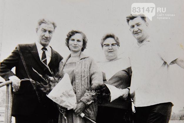 Пландин_с женой и брат Александр с женой_1987 год