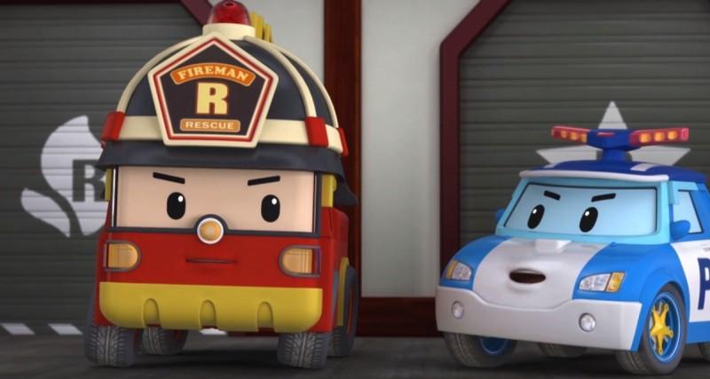 Кадры из фильма: Робокар Поли: Приключение в Брумтауне