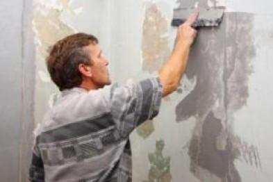 Предварительная обработка стен