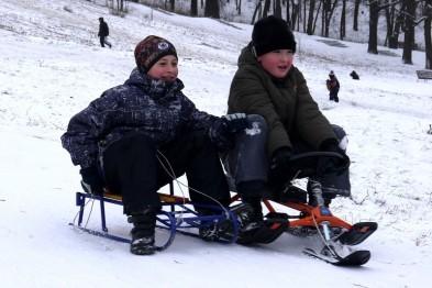 Полицией задержаны два подростка, укравших снегокат в Арзамасе