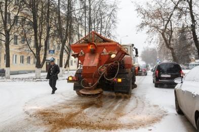 Смотр снегоуборочной техники провели в Арзамасе