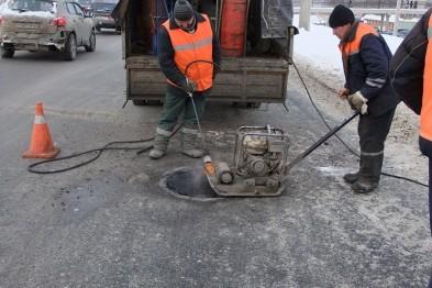 До конца марта - начала апреля в Арзамасе должны выполнить ямочный ремонт 18 улиц