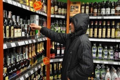 В городе Бор полицейские задержали любителя дорогого алкоголя