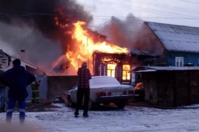 Мать вместе с сыном сгорели на пожаре в Нижегородской области