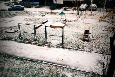 Первый снег и выходные в Арзамасе