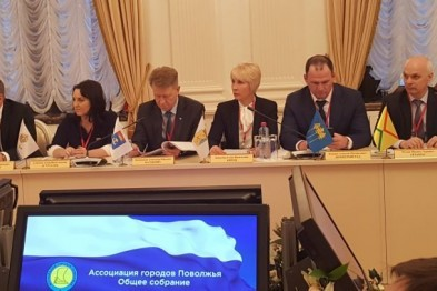 Михаил Мухин принял участие в общем собрании членов Ассоциации городов Поволжья, которое прошло в Казани
