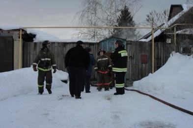 Неисправная печь стала причиной пожара в жилом доме Арзамасского района