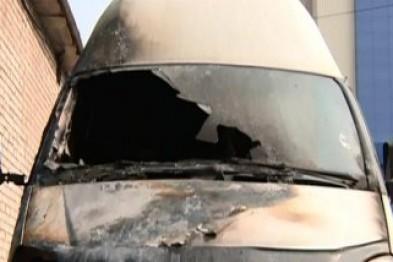 В Арзамасе неизвестные подожгли автомобиль «ГАЗель Бизнес»