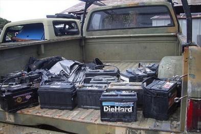 Серию краж аккумуляторов с грузовых автомобилей раскрыли арзамасские полицейские