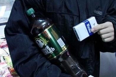 Более 100 литров незаконной алкогольной продукции изъяли арзамасские полицейские в ходе рейда