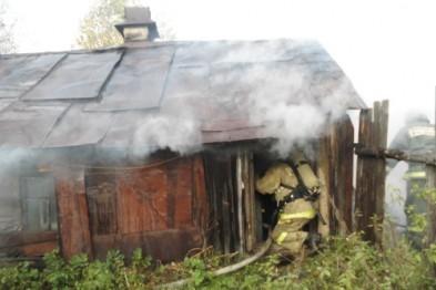 Очередная баня горела в Арзамасском районе