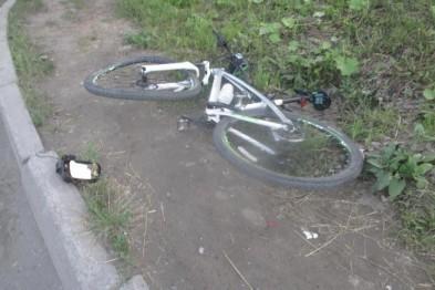 Пьяный водитель сбил велосипедиста на Угодникова