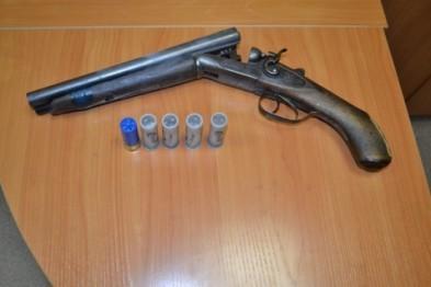 Житель Бийска пойдет под суд за изготовление обреза из охотничьего ружья