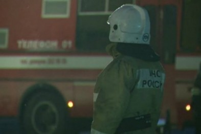 Пожар в общежитии в Арзамасе