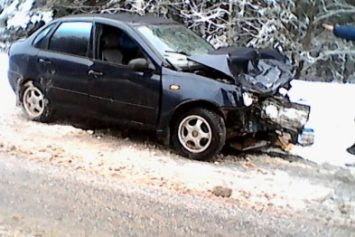 ДТП с пострадавшими произошло на въезде в Арзамас