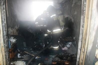 Офисное здание сгорело в Кстовском районе