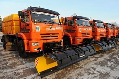 В Воронеже на 50% увеличили парк зимней уборочной техники