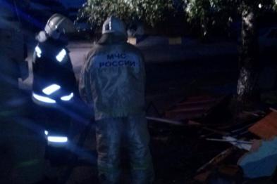 Возгорание в многоквартирном доме ликвидировали в Арзамасе