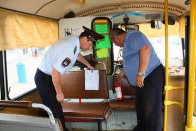 Полиция проверила пассажирский автотранспорт Арзамаса