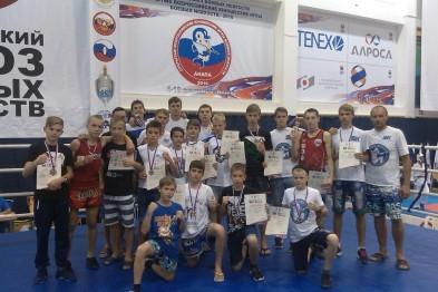 Три высшие награды завоевали спортсмены из Арзамаса на Всероссийских юношеских играх по боевым искусствам
