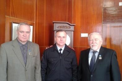 Начальник полиции города Арзамаса наградил руководителей ОАО «Темп-Авиа» (ФОТО)