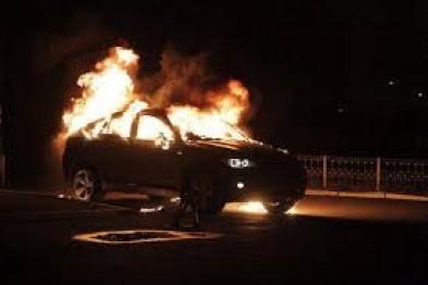 В ночь на 2 мая в селе Хватовка сгорел автомобиль