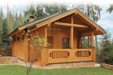 Определение материала для сооружения дома из древесины