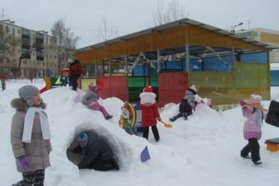 В Арзамасе Детский сад № 15 в скором времени получит новые игровые комплексы