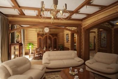 Дизайн интерьера загородных домов и коттеджей