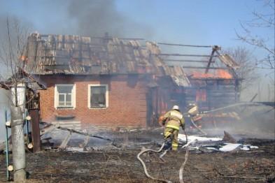 Пенсионерка погибла в результате пожара в жилом доме в Уренском районе