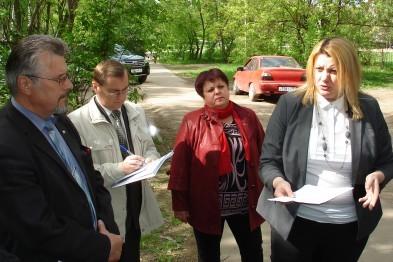 Татьяна Парусова оценила ремонт дорог в Арзамасе и проинспектировала стройку