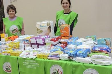 В Арзамасе собирали гуманитарную помощь для новорожденных из неблагополучных семей