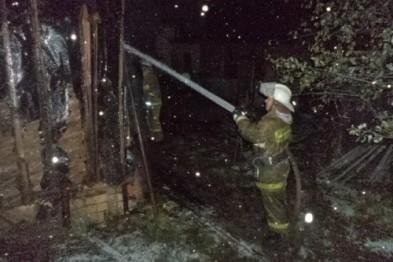 Дом и все надворные постройки сгорели в селе Чернуха Арзамасского района