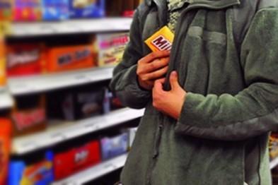 В Дзержинске задержали рецидивиста укравшего из магазина продукты на 2 тыс. рублей