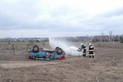 Арзамасские спасатели потренировались в ликвидации последствий ДТП