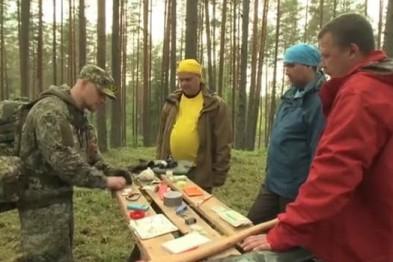 Арзамасец - герой реалити-шоу «Выжить в лесу»