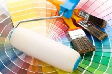 Современные интерьерные краски