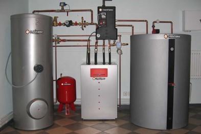 Как сделать водяное отопление, используя газовый котел