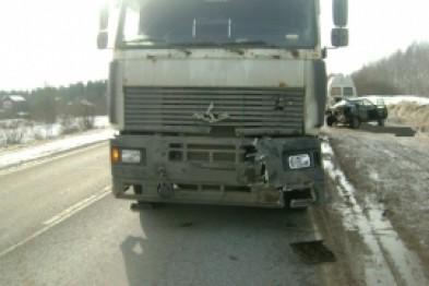 Два человека пострадали в ДТП, которое произошло в Арзамасском районе по вине водителя, уже лишенного прав