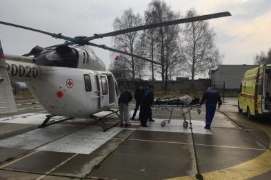 Подростка из Арзамаса с серьезным диагнозом санавиацией экстренно доставили в Нижний Новгород