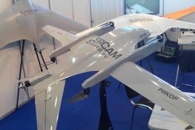 «Рикор Электроникс» на выставке «Интерполитех» представил модель беспилотного летательного аппарата