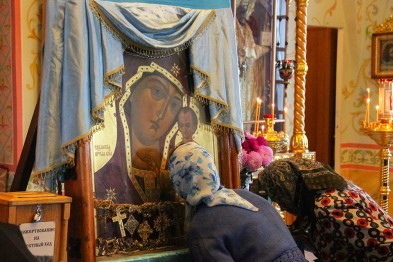 Арзамас встретил крестный ход с самой загадочной иконой