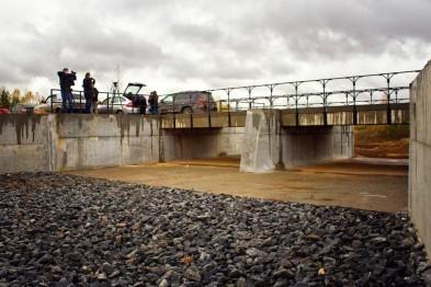 В селе Кирилловка Арзамасского района досрочно завершена реконструкция плотины