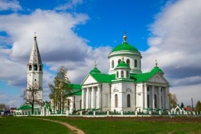 В Выездном 10 августа праздновали 200-летие Смоленской церкви