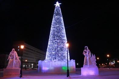 Главную новогоднюю ель в Томске поставят на Новособорной площади